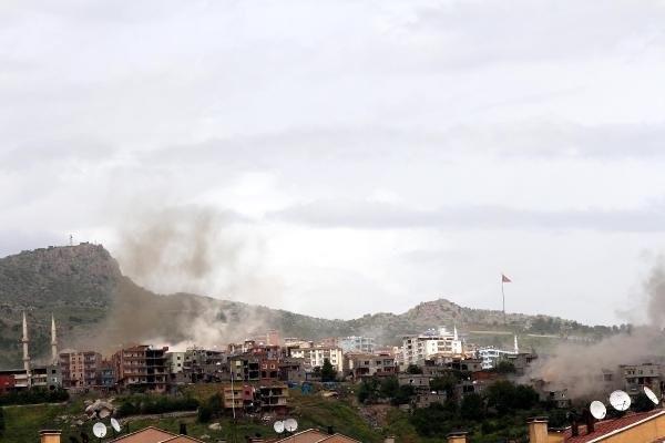 Şırnak'ta son durum: 35 ton patlayıcı imha edildi