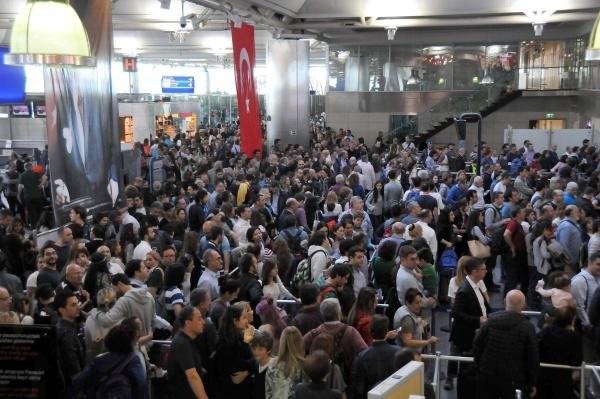 Atatürk Havalimanında POLNET çilesi