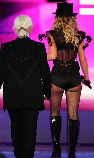 Britney Madonnaya özendi