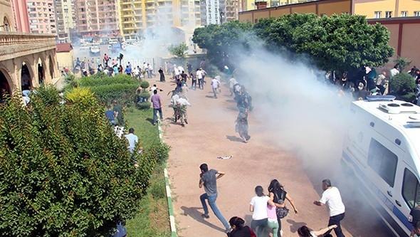 HDP mitingine polis müdahalesi
