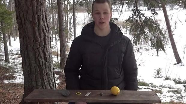 Limonla ateş nasıl yakılır ?