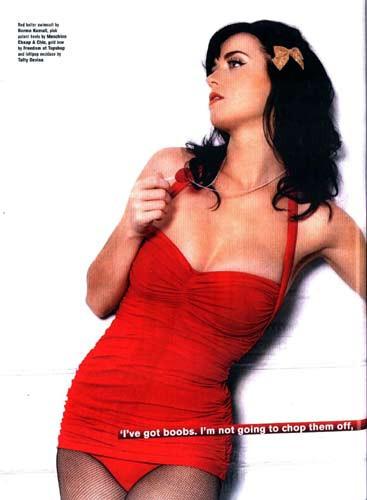 Katy Perry objektif karşısında