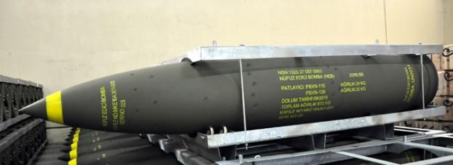 'Sığınak delen' milli bomba üretildi