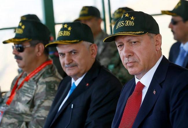 Cumhurbaşkanı ve Başbakan Efes 2016 tatbikatında
