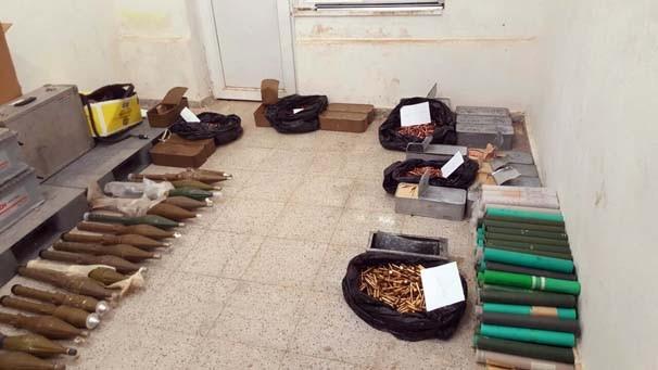 PKK'nın bomba imalathenesi imha edildi