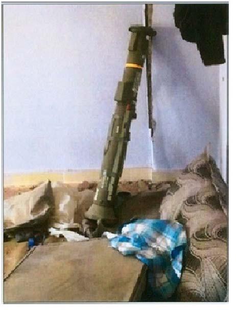 Nusaybin'de ABD yapımı anti-tank roketi bulundu