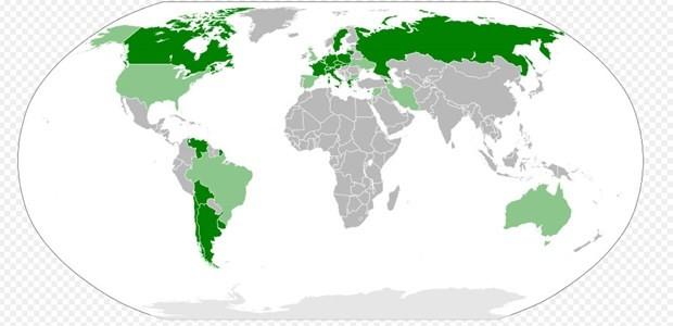 1915 olaylarını 'soykırım' olarak tanıyan ülkeler