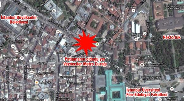 İstanbul'da Çevik Kuvvet'e bombalı saldırı: 12 ölü