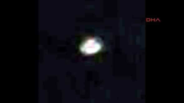 Sahur vaktinde UFO heyecanı