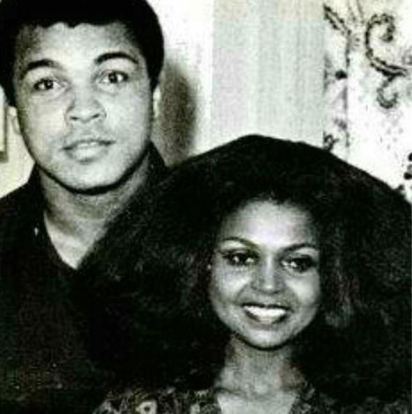 Muhammed Ali'nin eski sevgilisinden büyük ayıp
