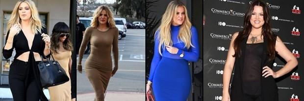 Khloe Kardashian adeta eridi! Son haline bakın
