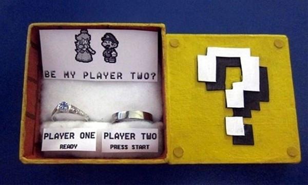 Böyle evlilik teklifi gördünüz mü?