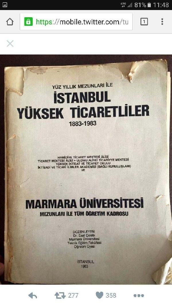 Erdoğan'ın adı mezunlar yıllığında