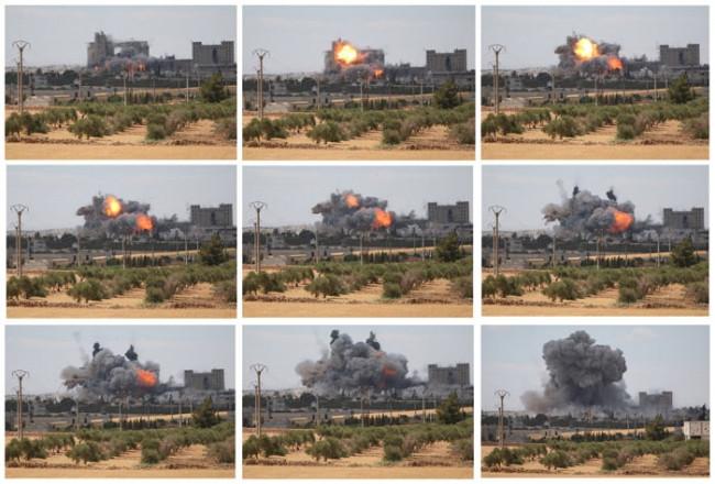 IŞİD hedefleri böyle bombalandı