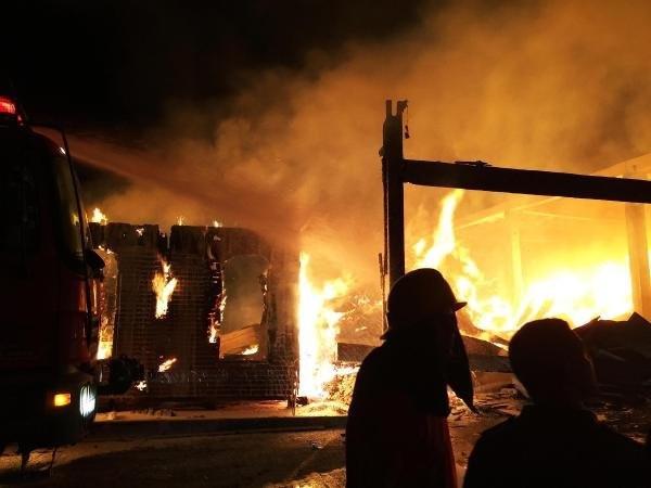 Muğla'da korkutan yangın