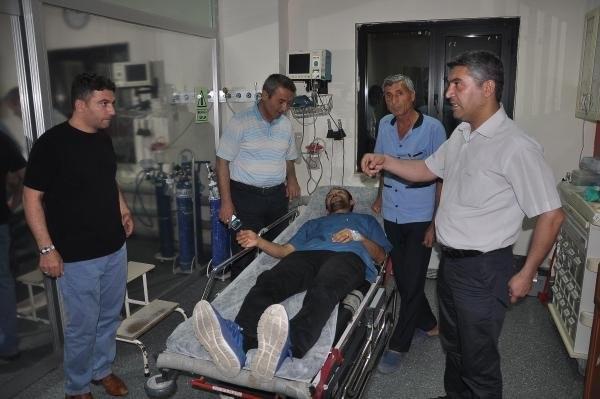 Hemşire ve hasta bakıcıya saldırdılar