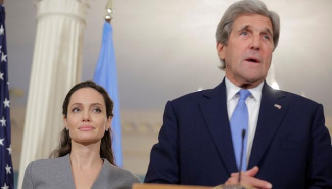John Kerry ve Angelina Jolie iftarda buluştu