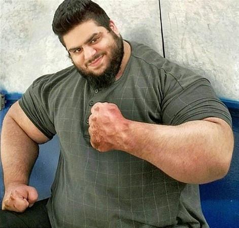 İranlı Hulk