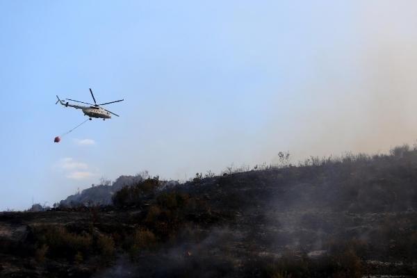 Kumluca'da yangın kabusu