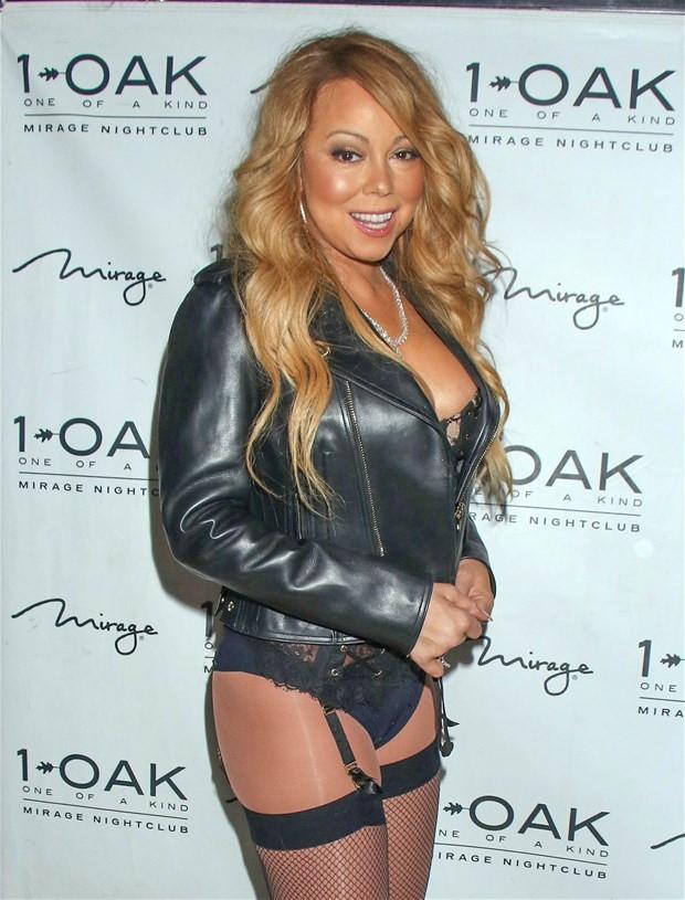 Mariah Carey'den jartiyer şov