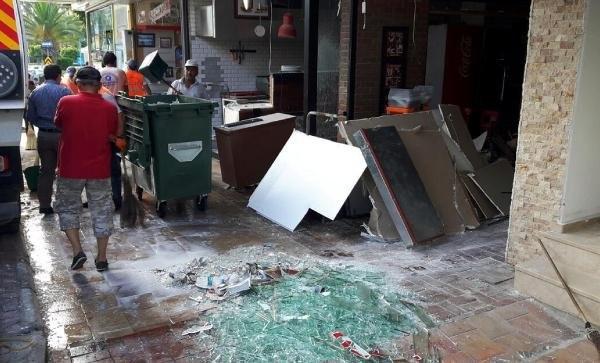 Restoranda tüp patladı !