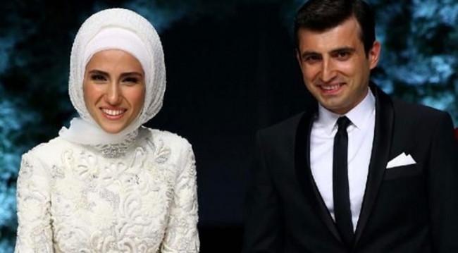 Sümeyye Erdoğan ortaya çıktı! Evlilikten sonra ilk kez...