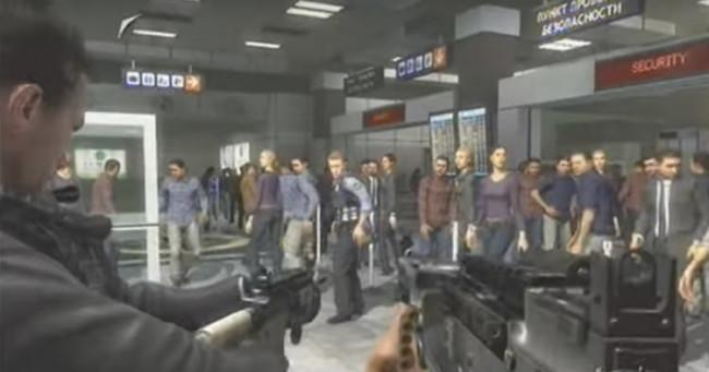 Ünlü oyunda havalimanı saldırısı böyle kurgulandı