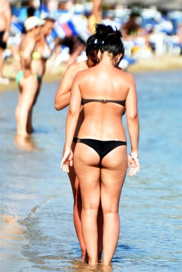 Bodrum plajları doldu taştı