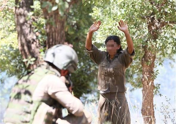 Lice'de 5 terörist öldürüldü !