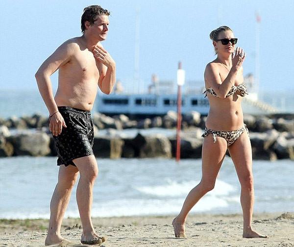 Kate Moss'un Venedik kaçamağı