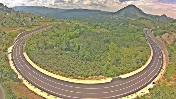 Asırlık proje havadan fotoğraflandı