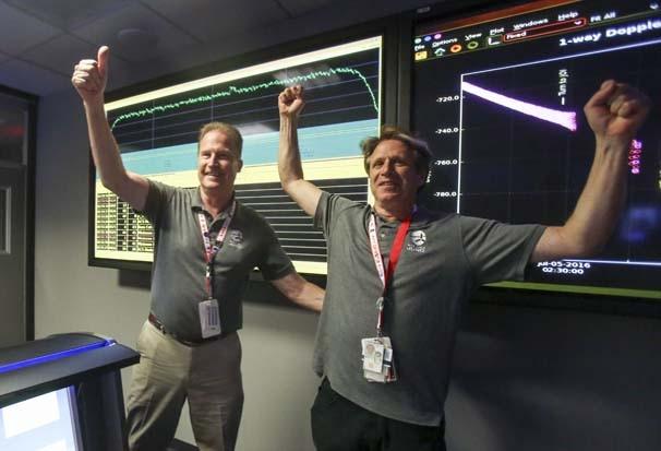 NASA'nın aracı Jüpiter'in yörüngesinde !