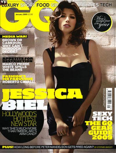 Jessica Biel GQya poz verdi