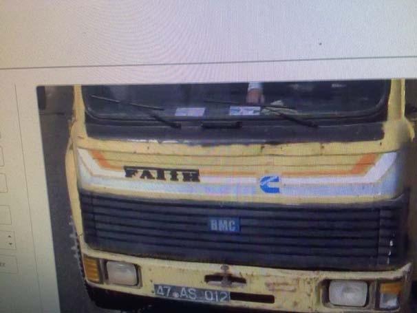 8 tonluk bomba yüklü kamyon bakın kimin çıktı!