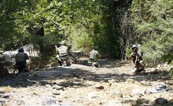Marmaris'te darbeci askerlerin silahları bulundu !