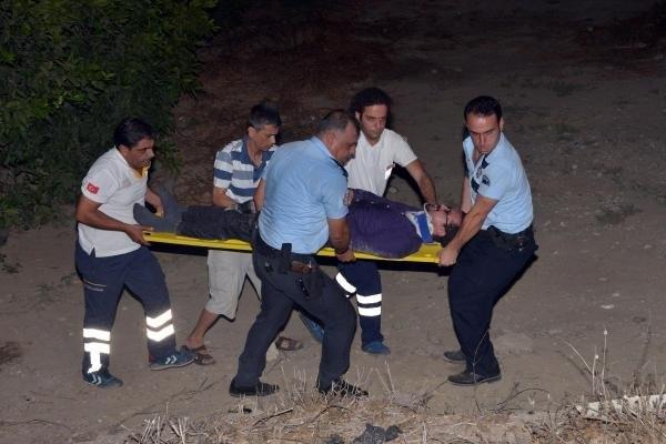 Polis yaralı genci böyle hayatta tuttu