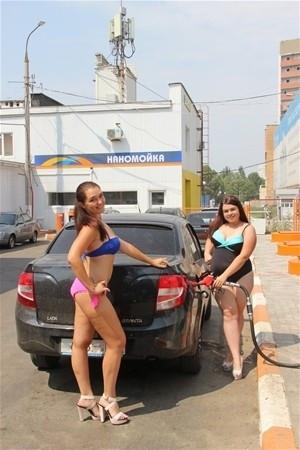Bikiniyle gelene benzin bedava