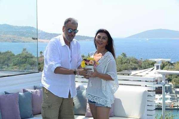 Hamdi Alkan ile Selen Görgüzel Bodrum tatilinde