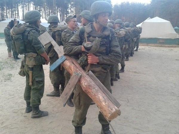 Ordudaki askerleri böyle cezalandırdılar