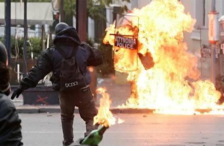 Polisi böyle yaktılar