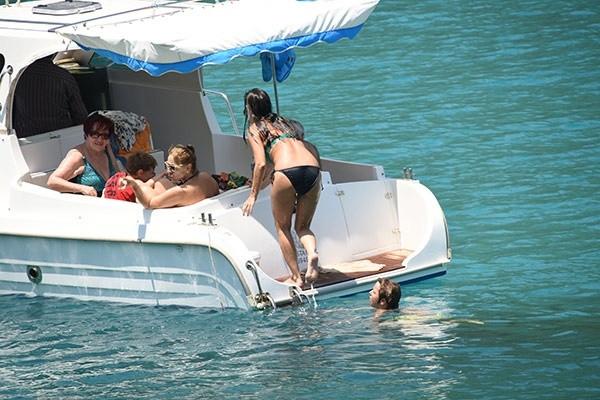 Tekne küçük, mutluluk büyük