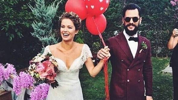 Ve Mutlu son! Burcu Biricik evlendi