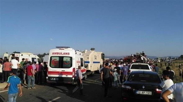 Bingöl'deki bombalı saldırıdan ilk görüntüler !
