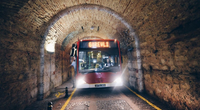 Beylerbeyi Sarayı Tüneli açılıyor
