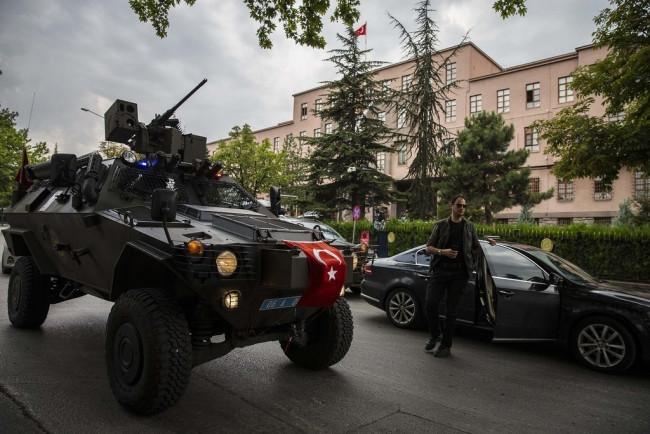 Cumhurbaşkanı Erdoğan Karargah'ta