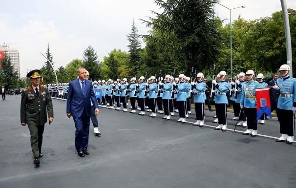 Erdoğan Genelkurmay karargahında