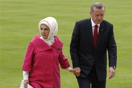 Emine Erdoğan'ın gelinlikli fotoğrafı