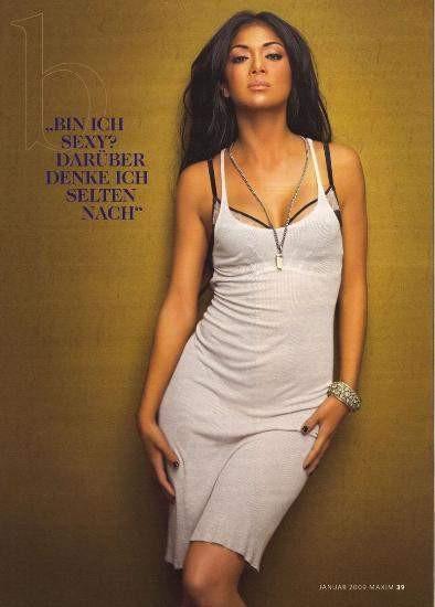 Nicole Scherzinger Maxime kapak oldu
