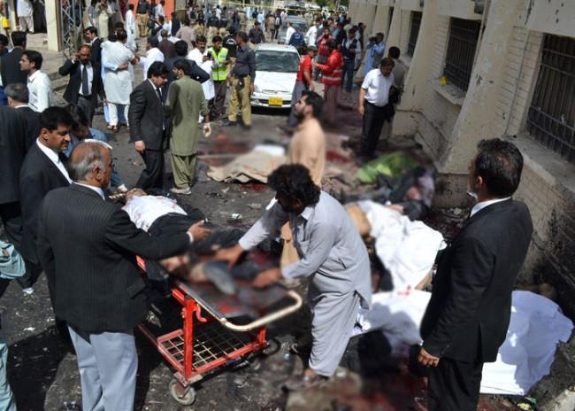 Hastanede canlı bomba saldırısı: 60 ölü