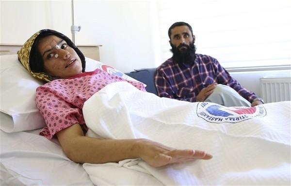 """Afgan kadına Türkiye'de """"mucize"""" operasyon"""